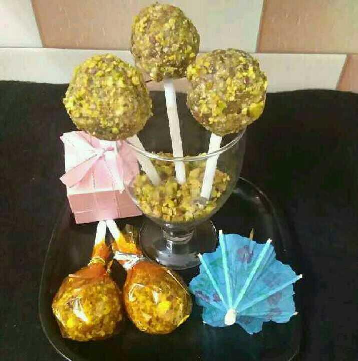 Dry Fruits Lollipops