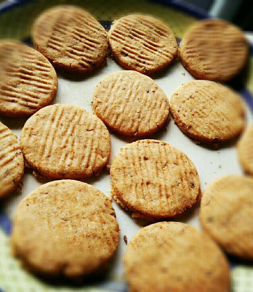 Sweet And Salty Jowar Cookies