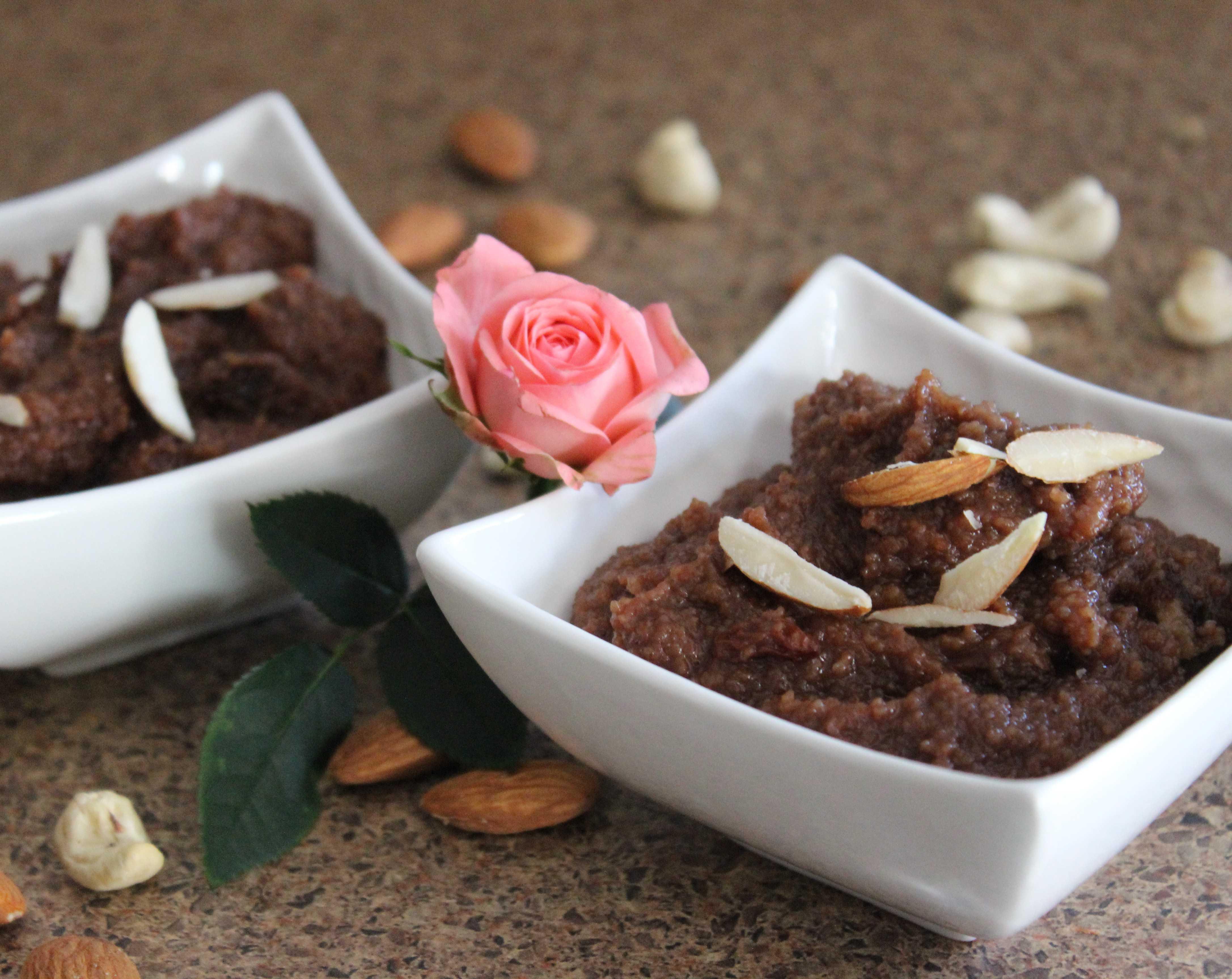 Chocolate And Sooji Halwa