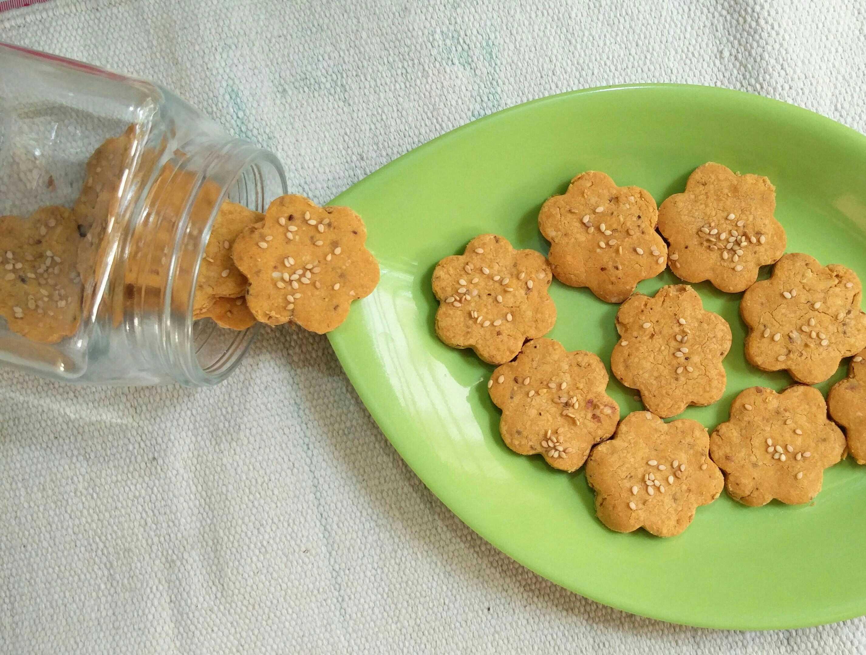 Rice Peanut Biscuit.