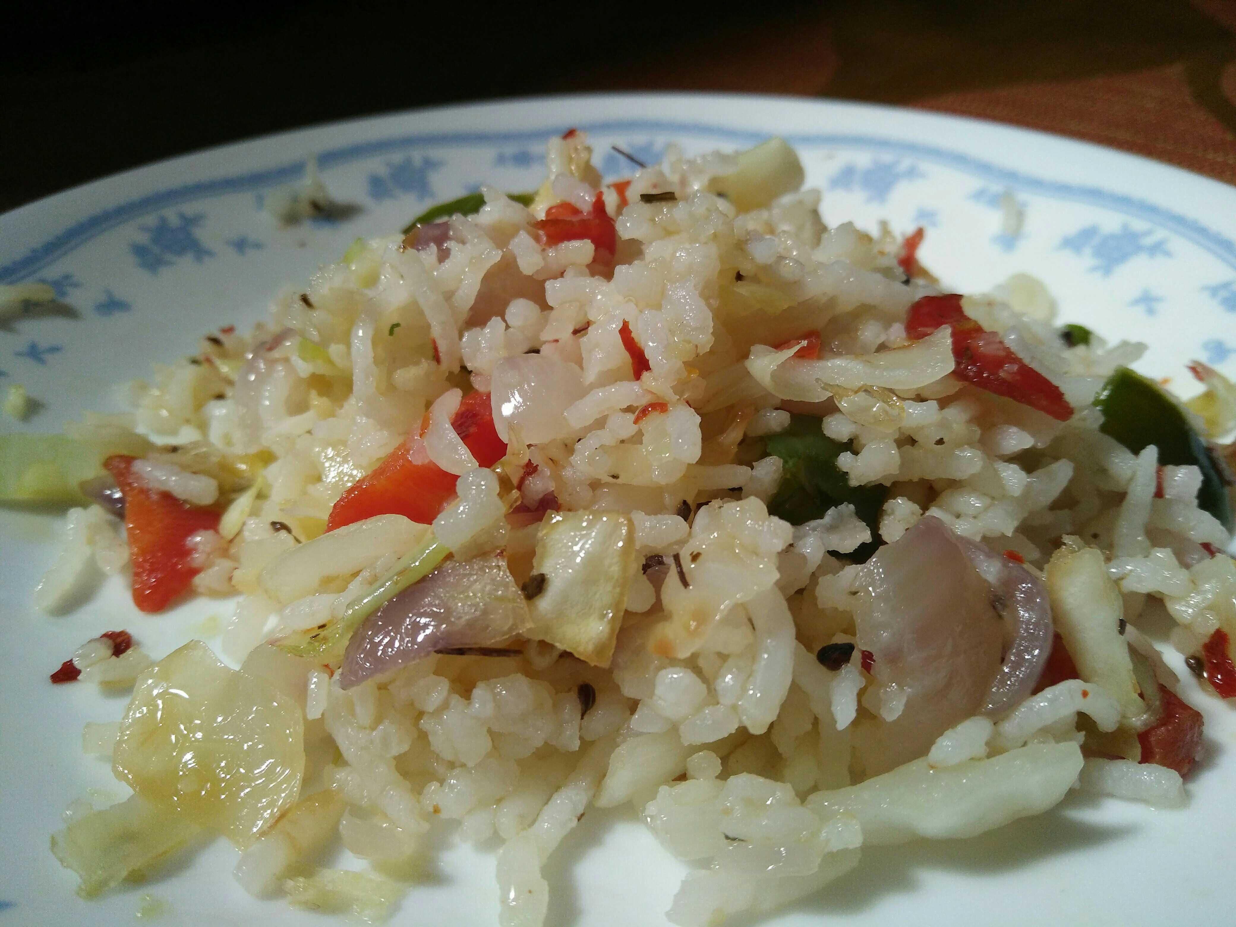 Mix Vegetables Herb Rice