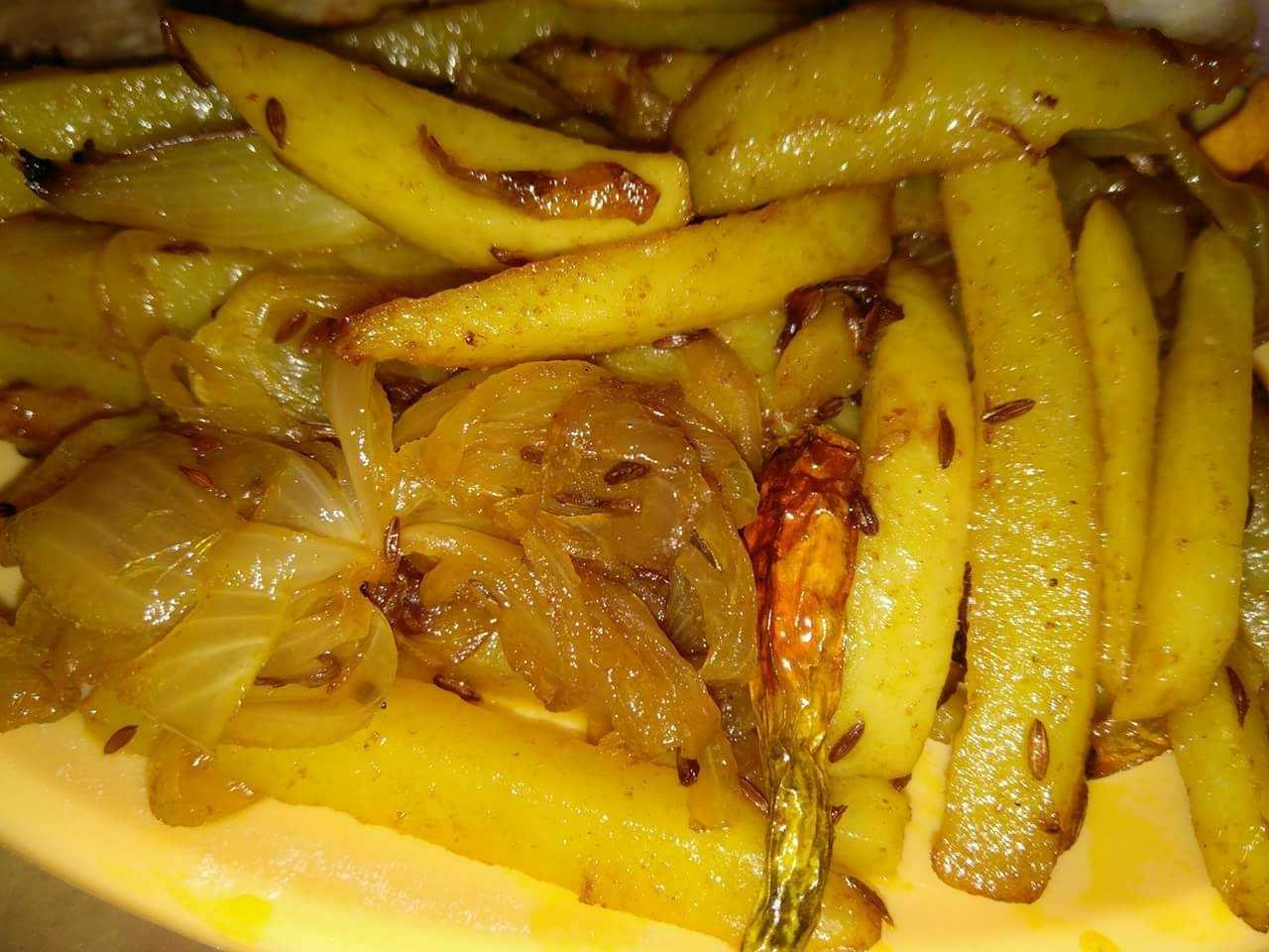Aloo bhaja/Potato Fry