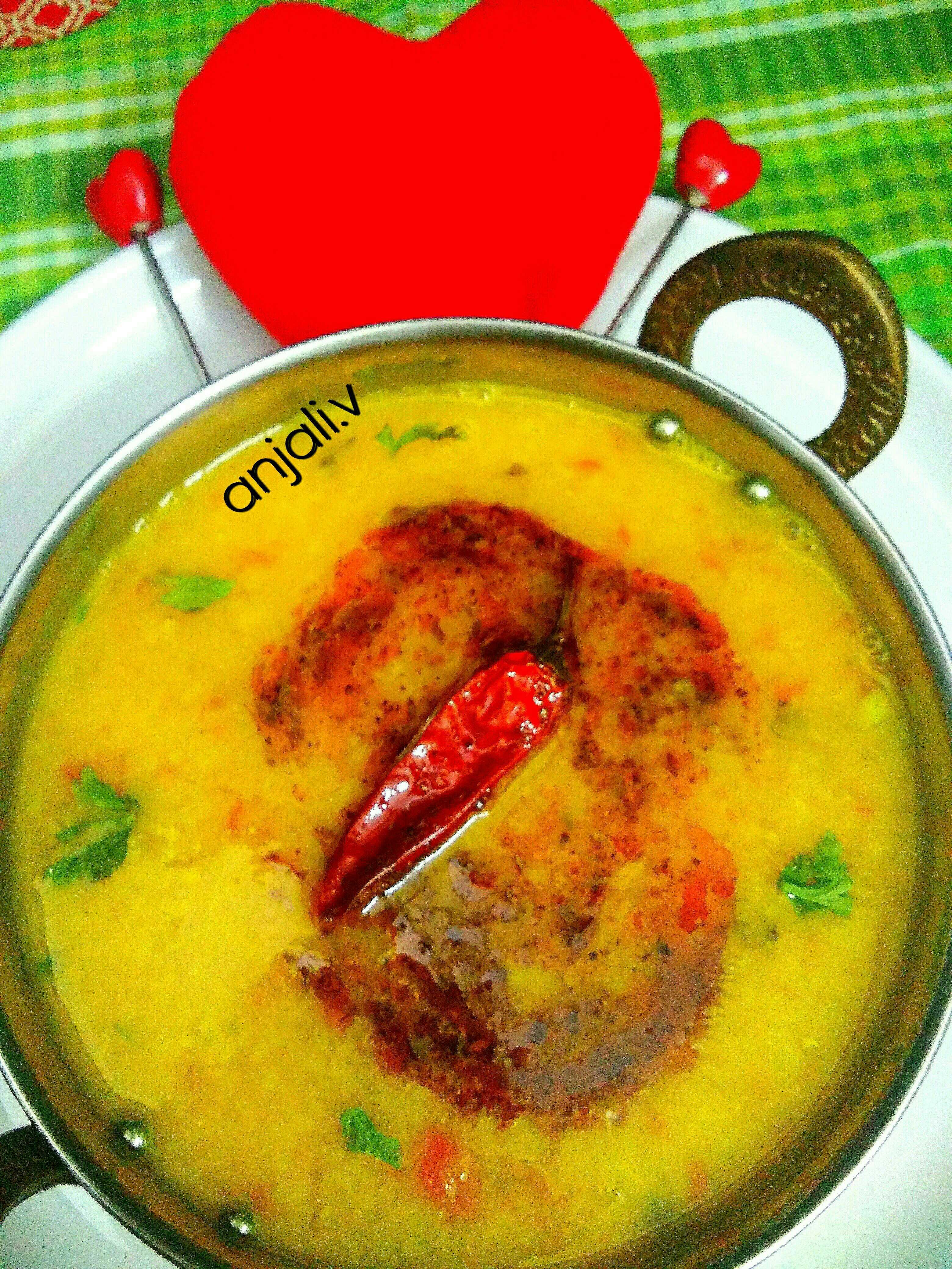 Dhaba style Daal Tadka