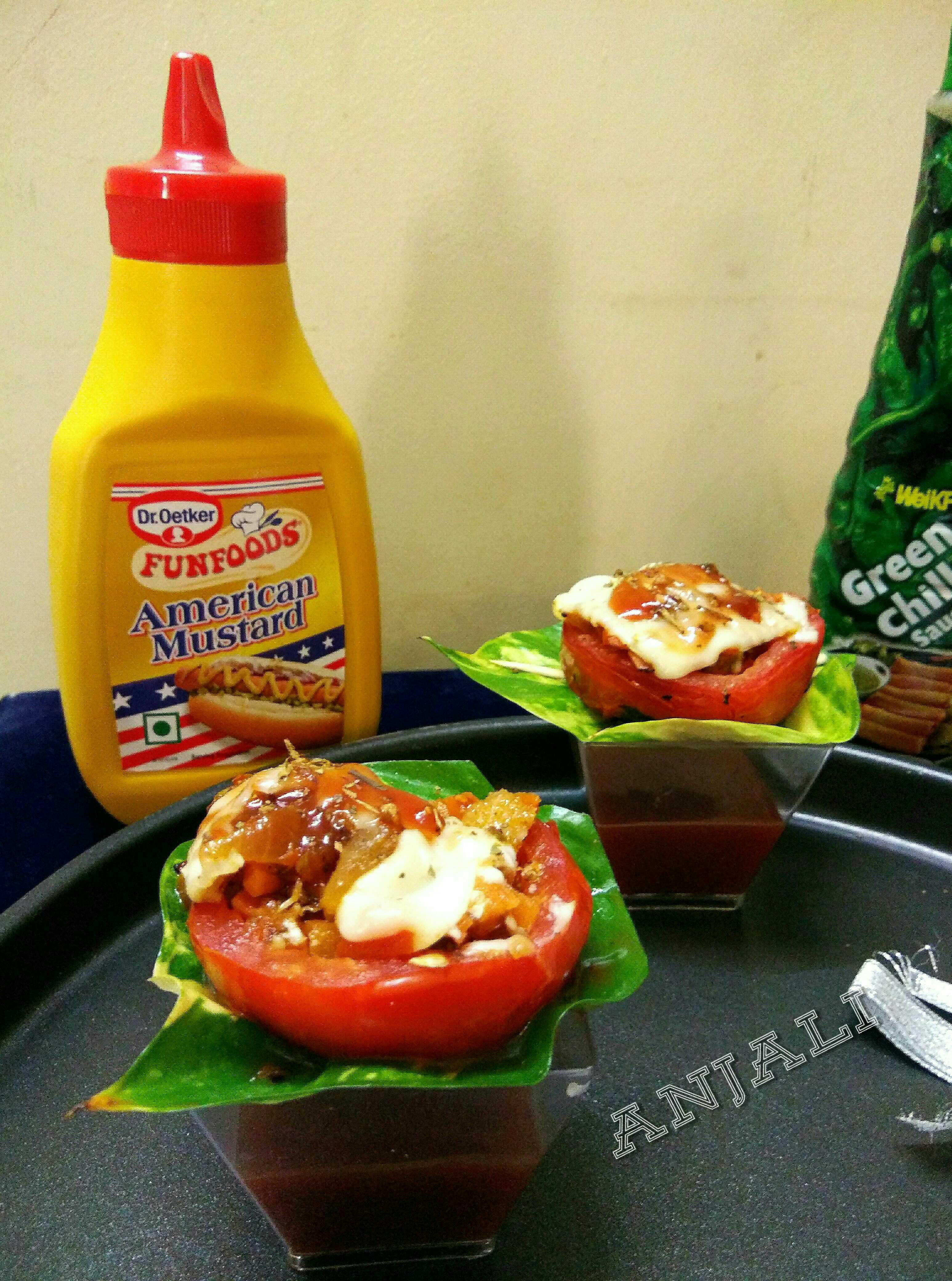 Tomato Pizza Cups