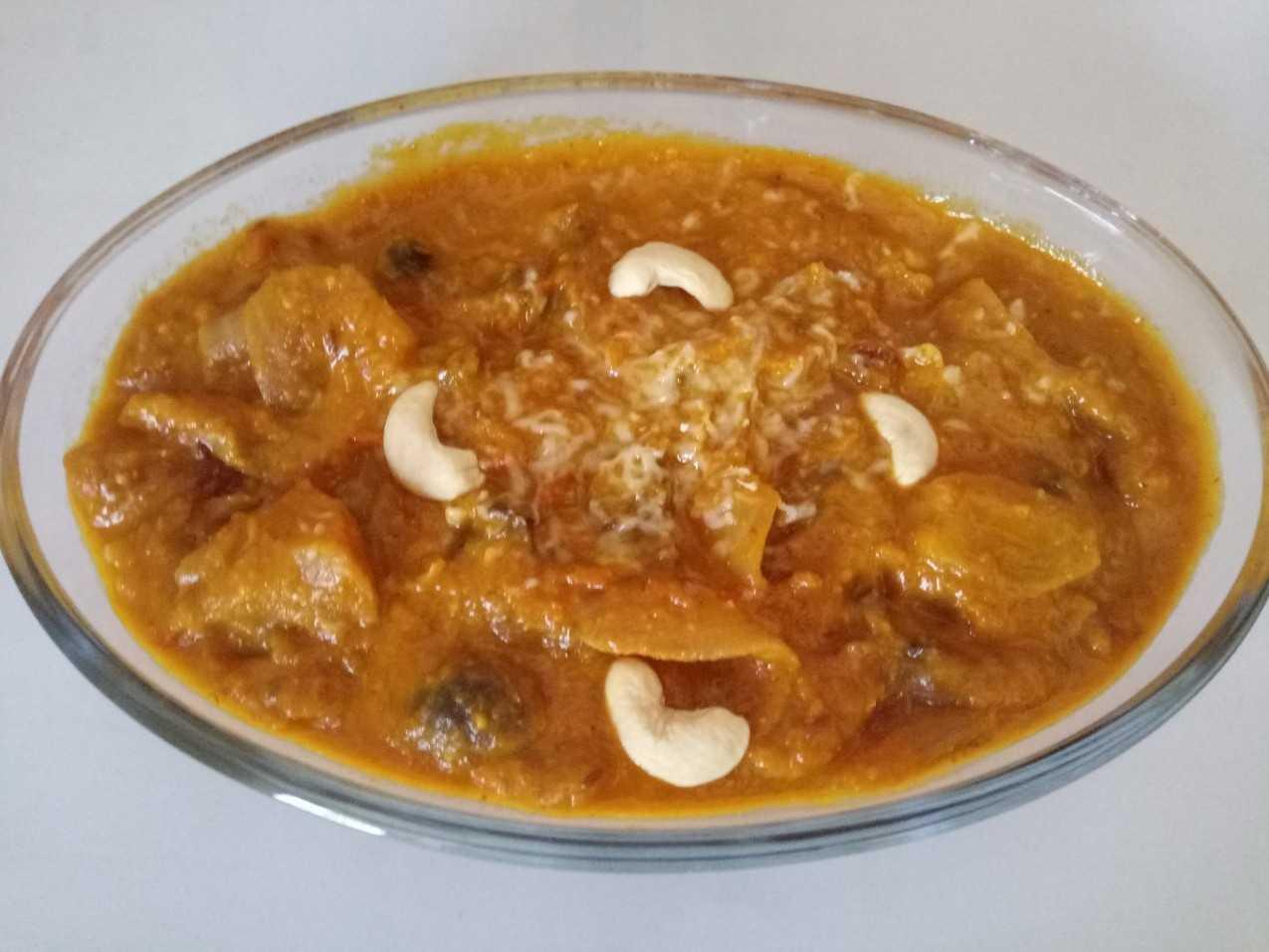 Kadhai Apple & Mushroom