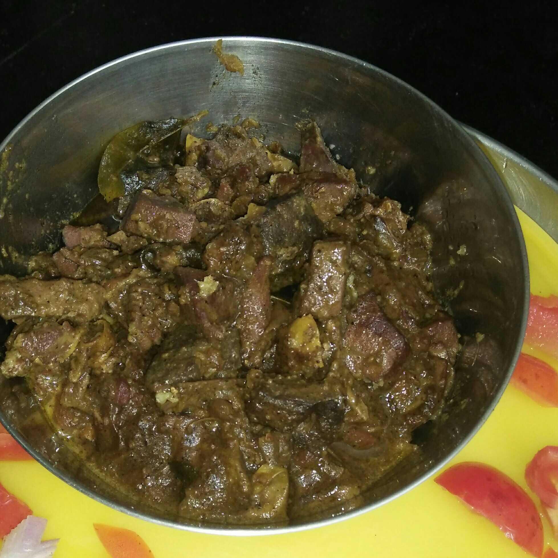 Liver Pepper Fry
