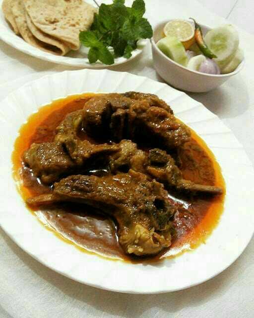 Goat Meat Chops Masala