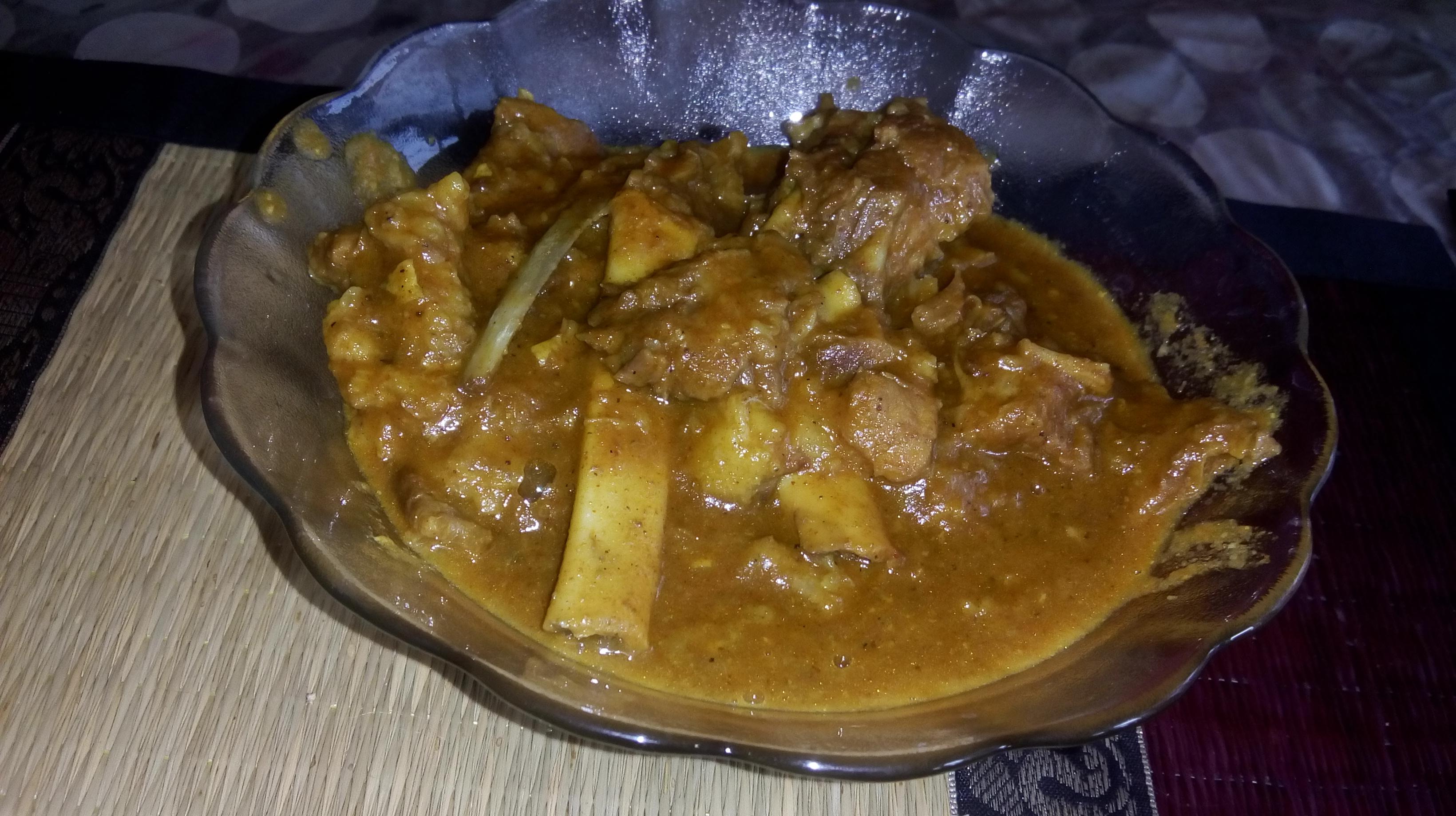 Kadai meat