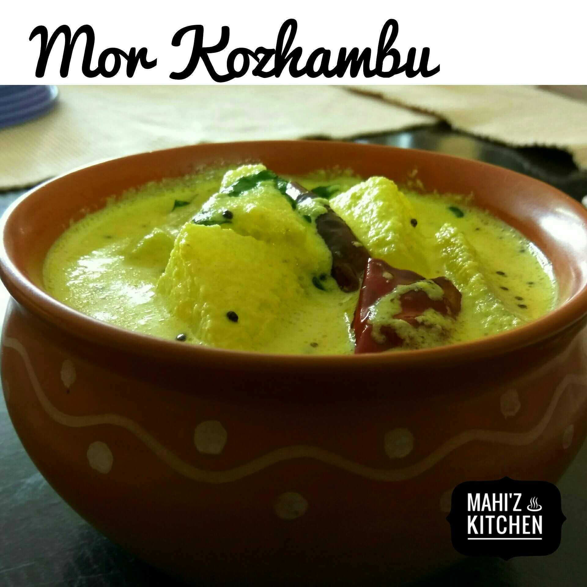 Mor Kozhambu / Buttermilk Curry