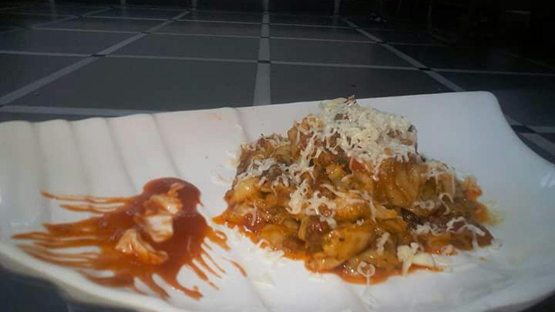 IndoItalio Hot Spicy Pasta