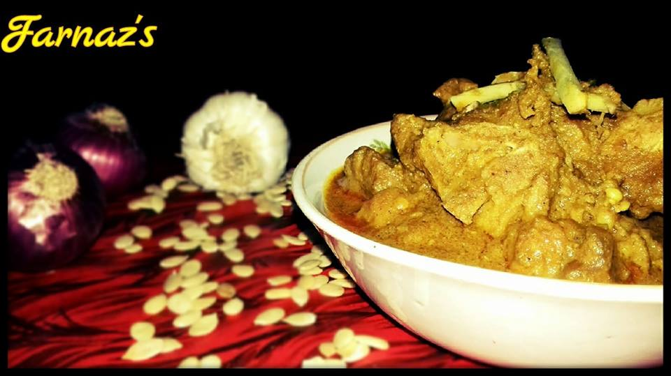 MUTTON CURRY WITH MELON SEEDS