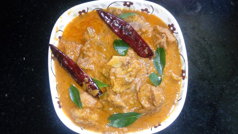 Spicy `n`  Aromatic Mutton Curry