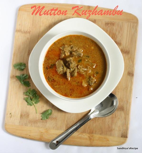 Mutton Curry / Kuzhambu