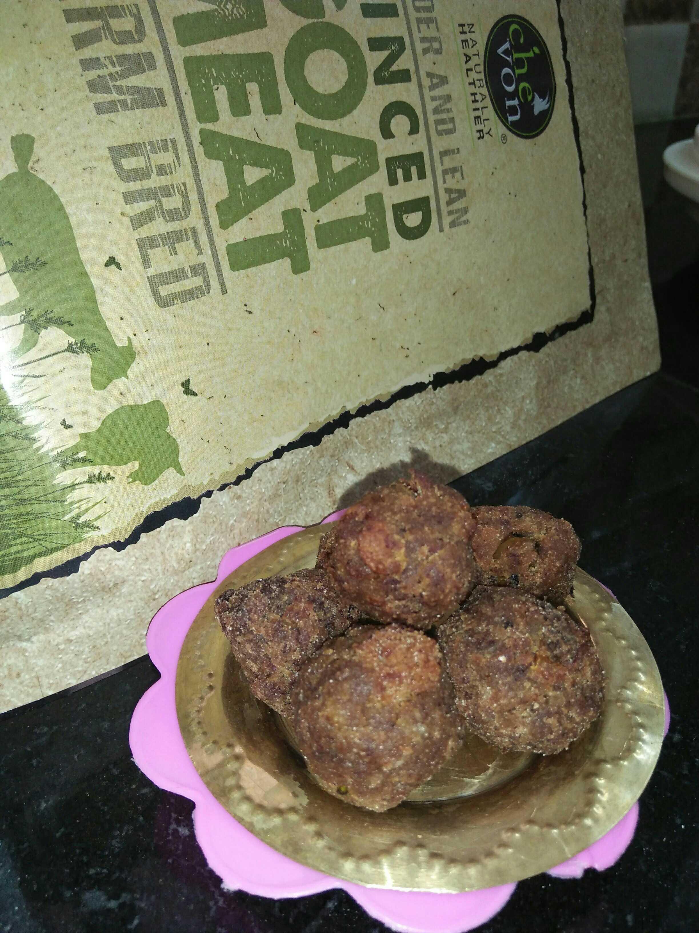 Chevon Minced Meat Bread Balls
