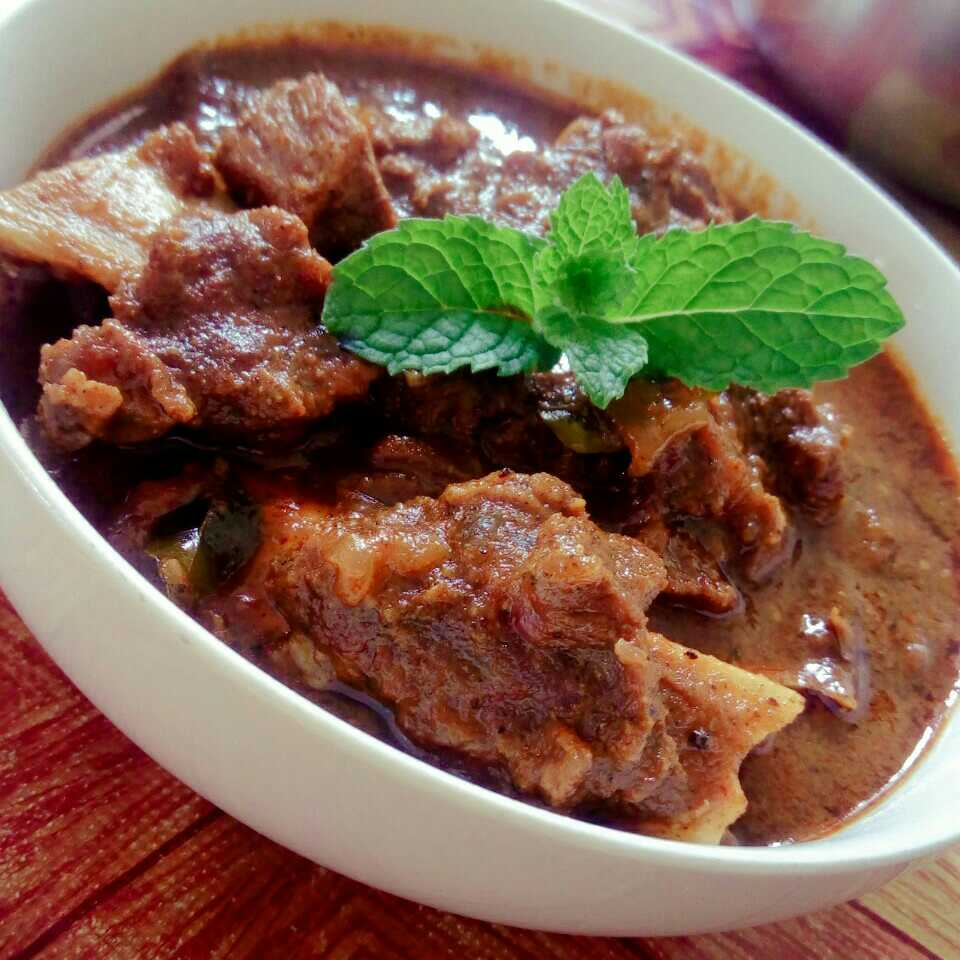 Chettinad Mutton Karoda