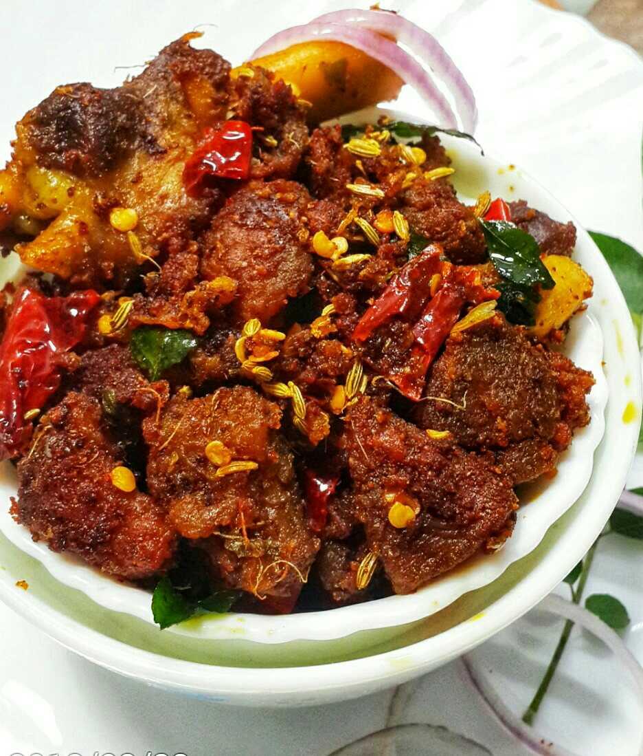 Kerala Special Mutton Fry
