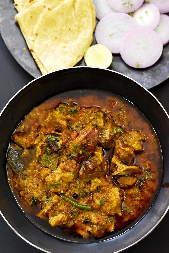 Indian Mutton Curry Recipe (Pressure Cooker)