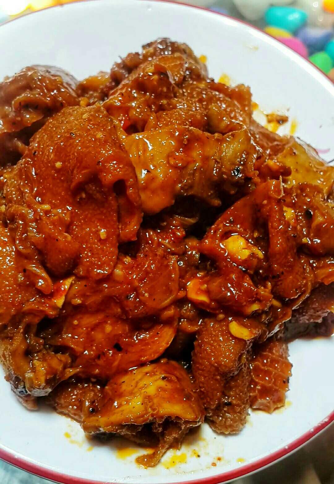 Mutton Botty(Goat Intestine).. Kerala Style