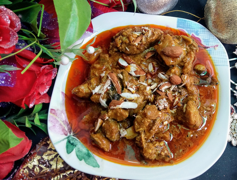Rich n Creamy Badami Curry