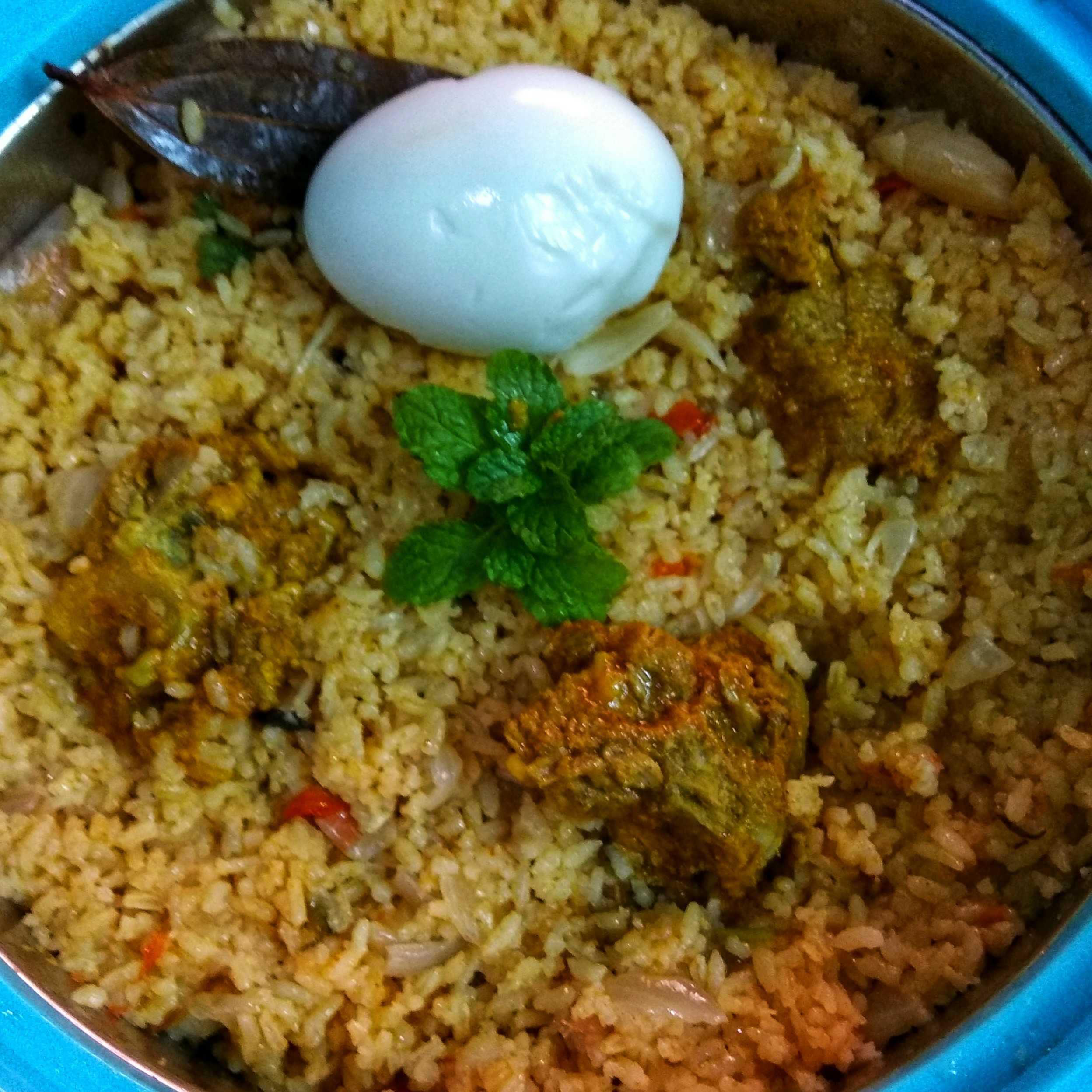 Seeraga samba Rice  Mutton BIRIYANI