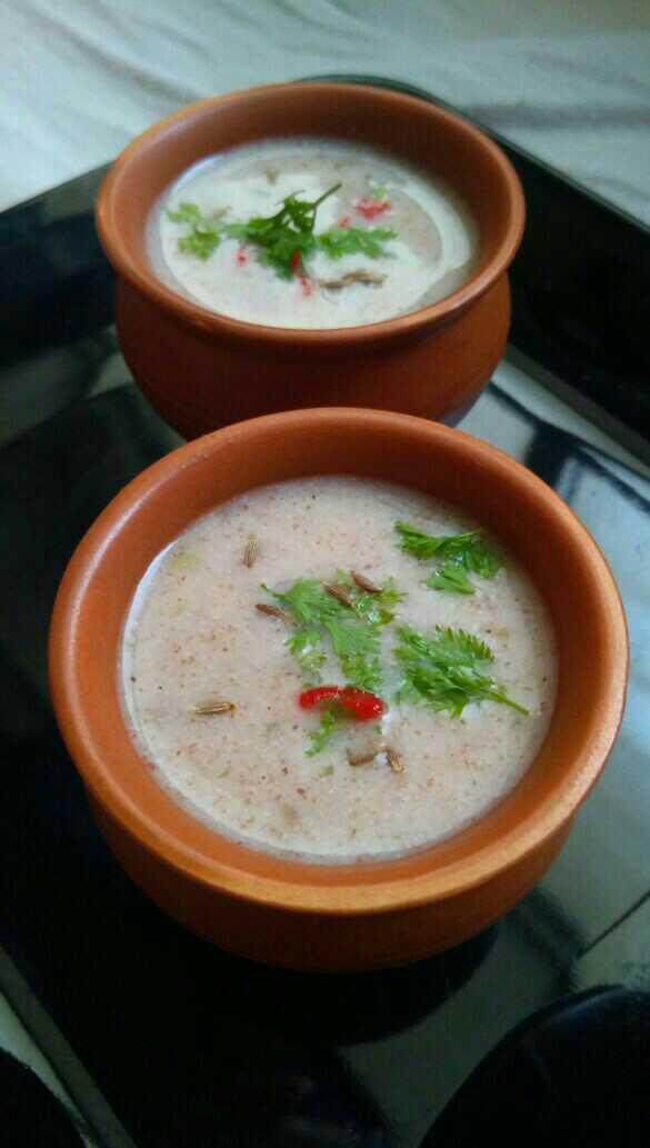 Summer Special Ragi Soup (Nachni Ambil)
