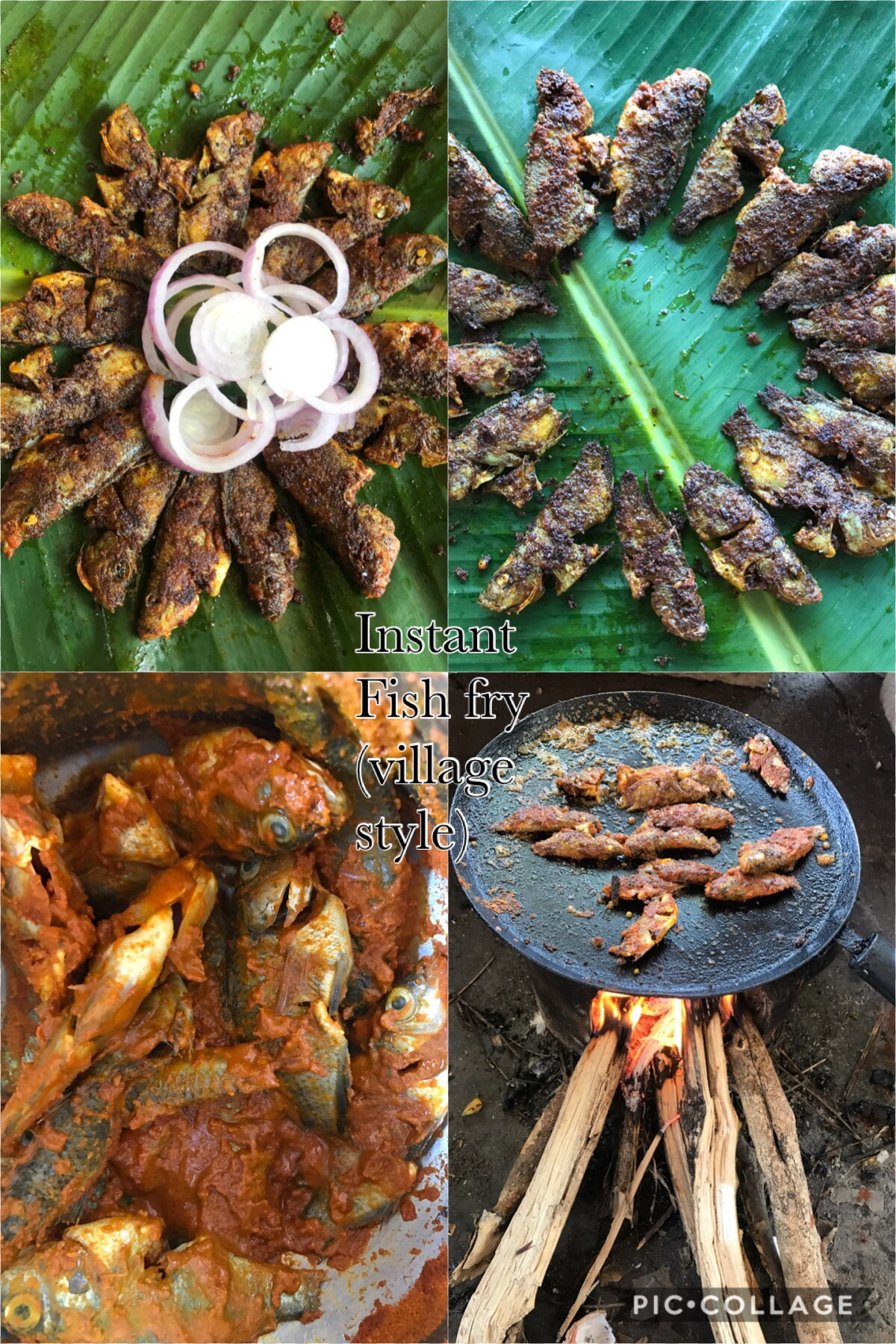 Instant Fish Fry(village style )
