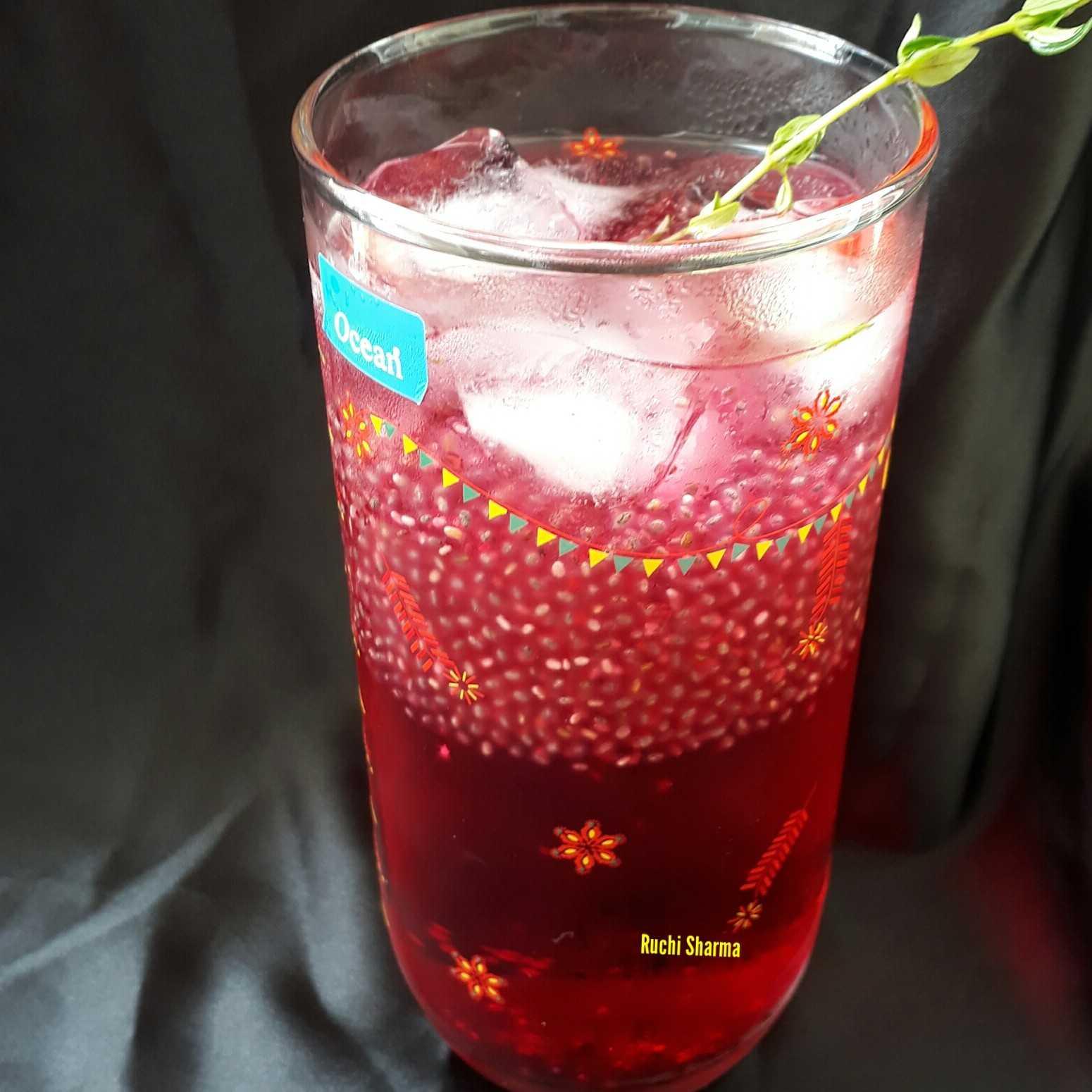 Thai Basil Seed Drink