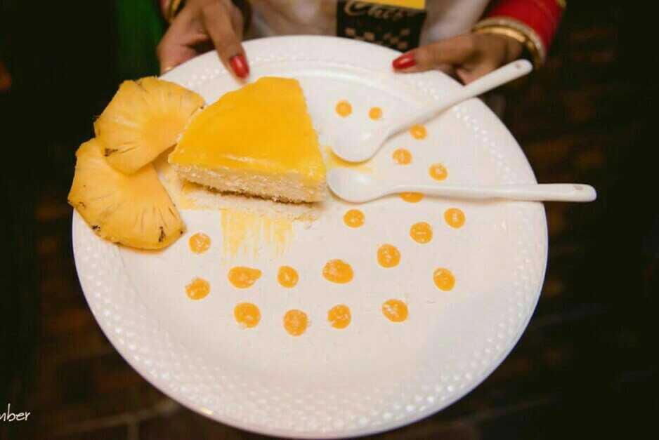Lemon Pineapple Cheesecake
