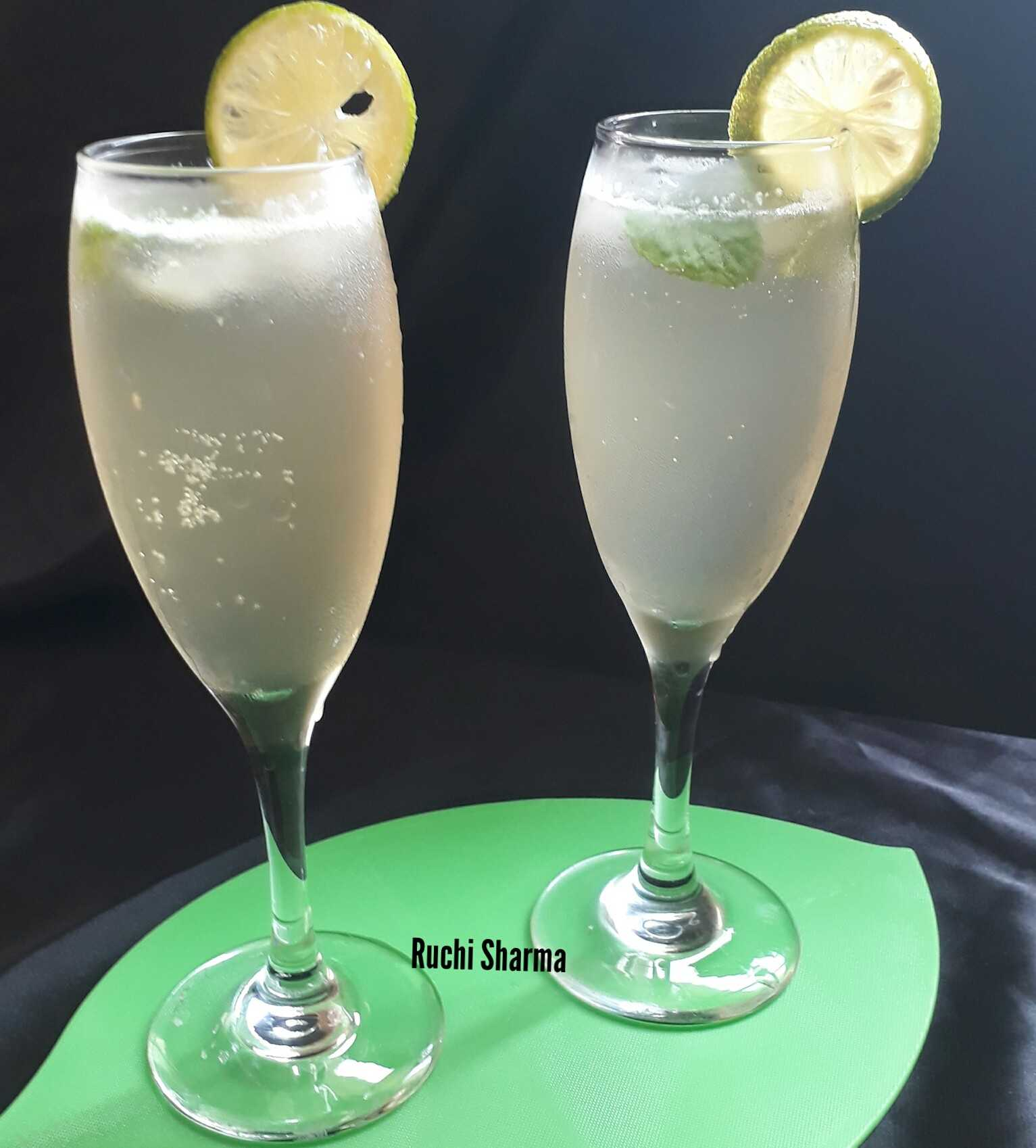 Lime Honey Soda