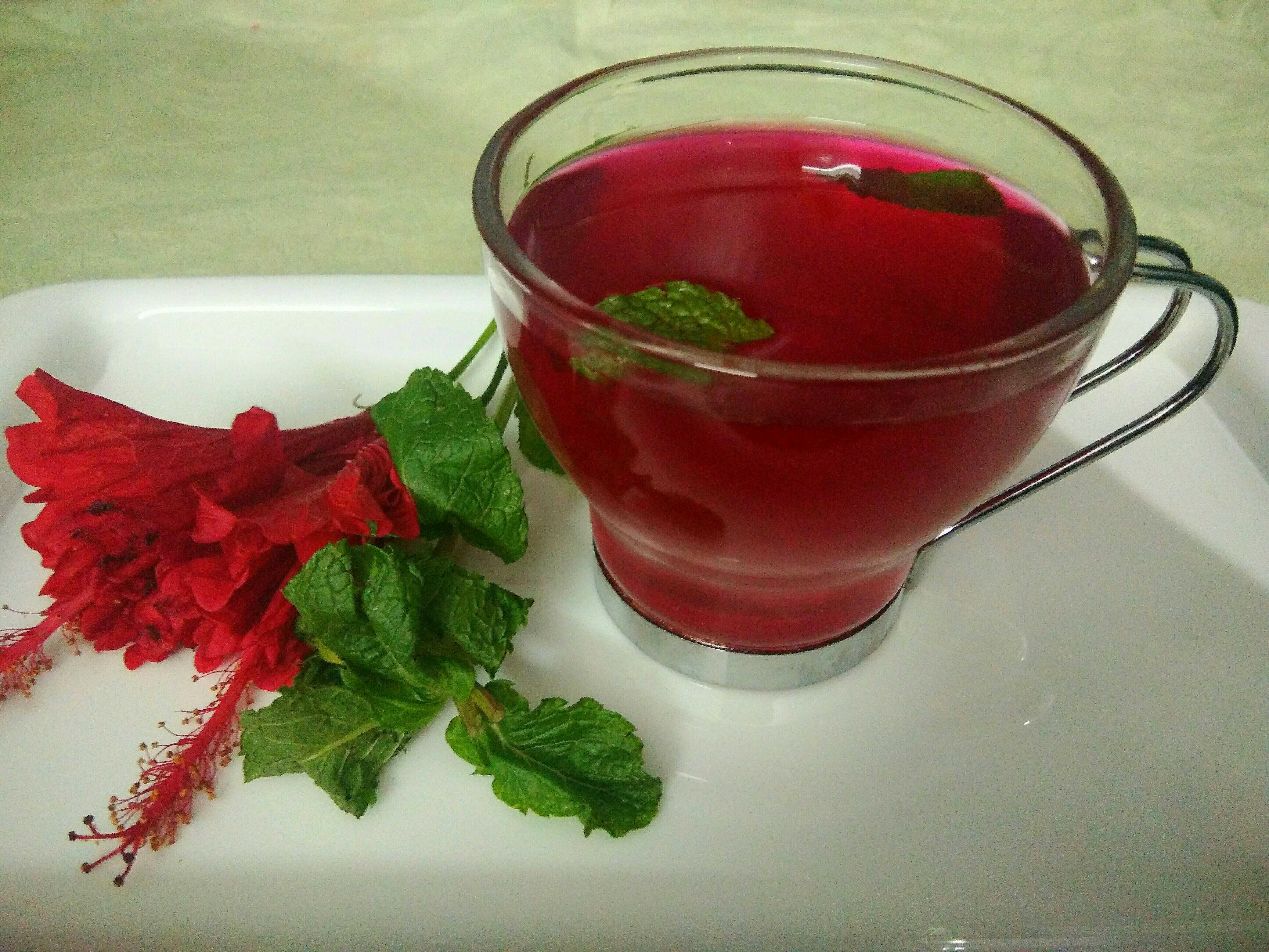 Hibiscus Cold Tea