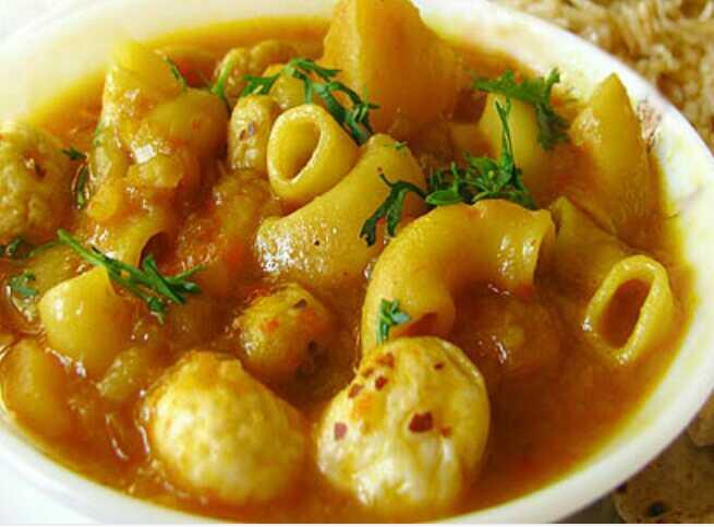 Macaroni Main Course