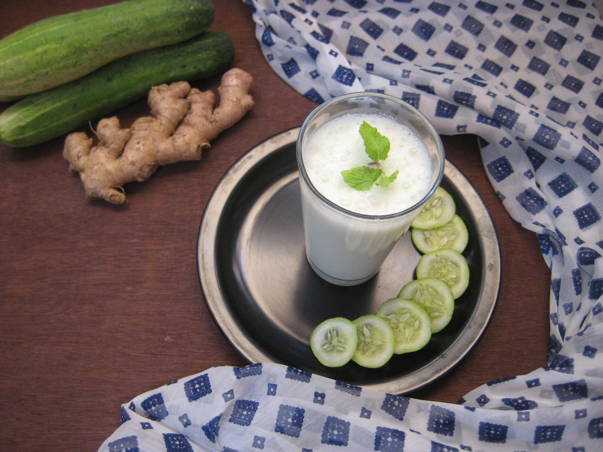 Salted Cucumber Lassi