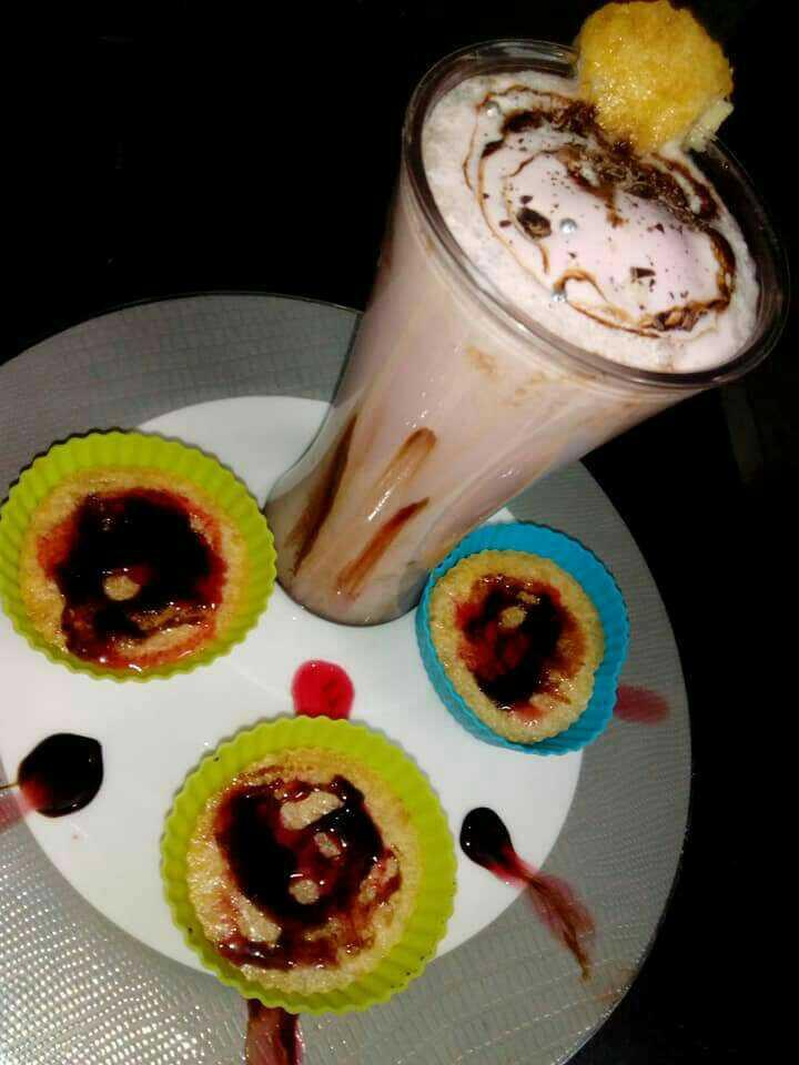 Rosy Muffins Shot