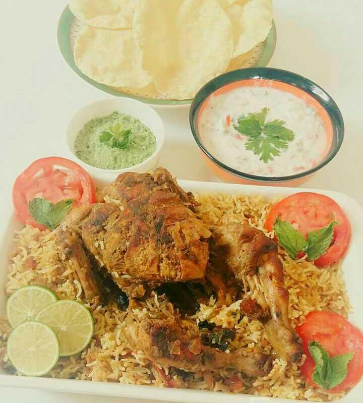 Whole Chicken Briyani