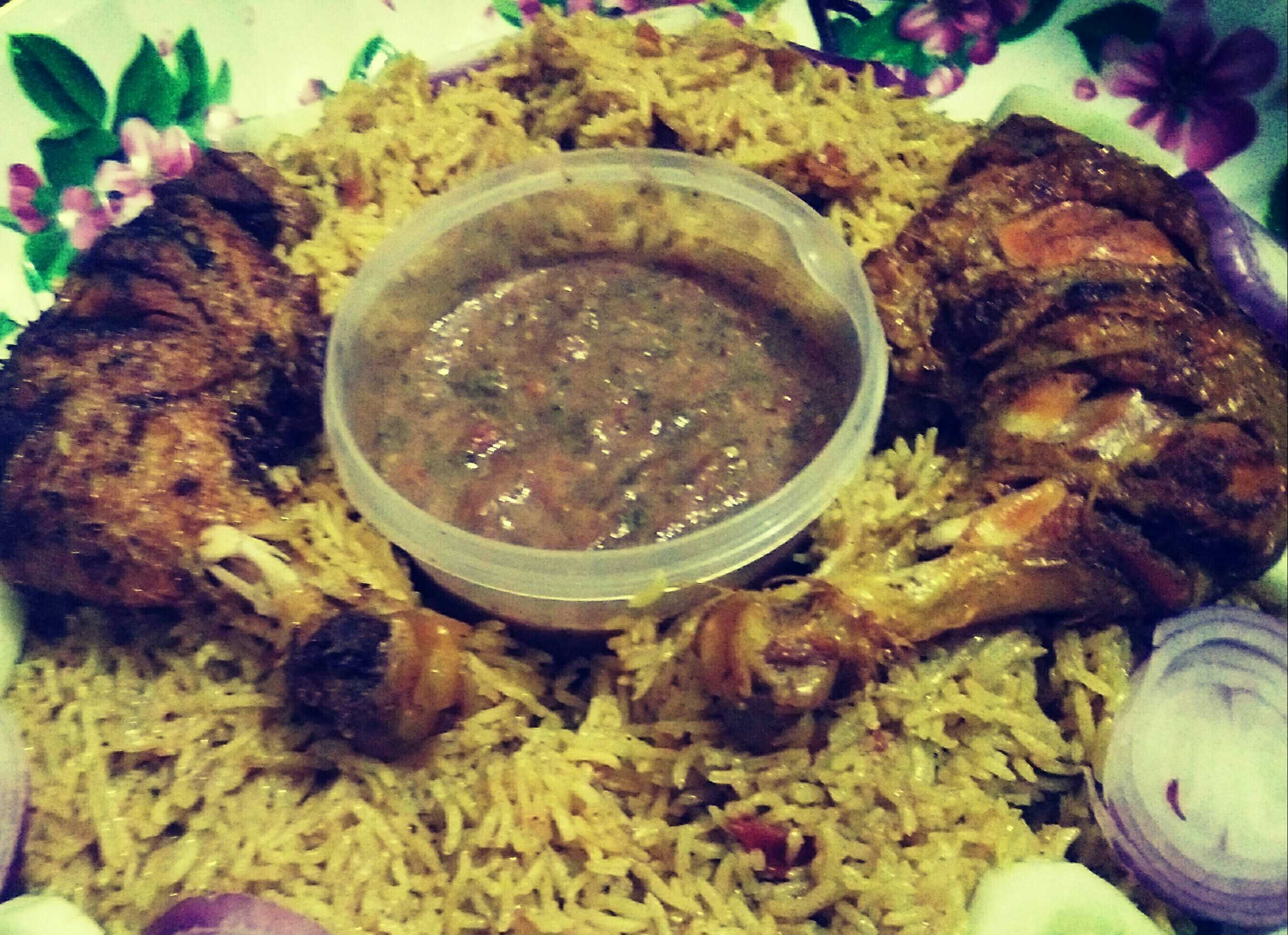 Arabian Kabsa Laham Recipe Rushdah Humaira Recipes Recipebook