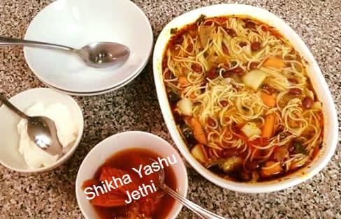 Ash-e Reshteh (Persian Legume Chicken Soup)