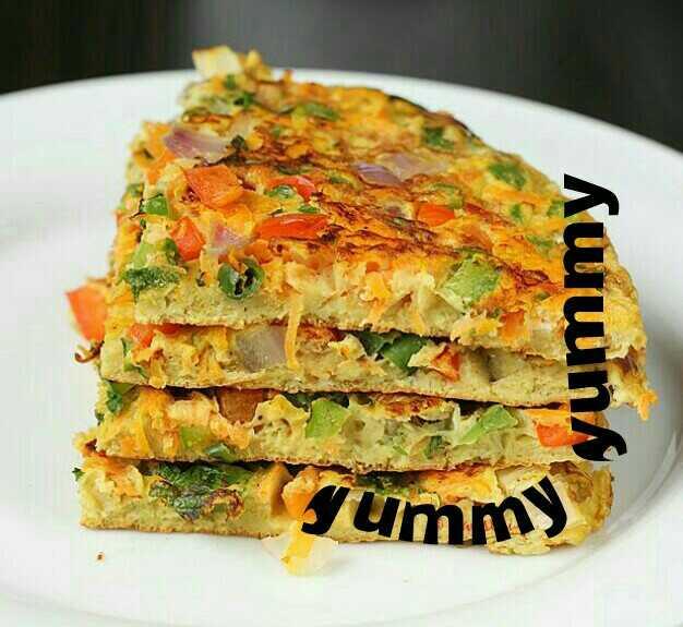 Egg Oats Omelette