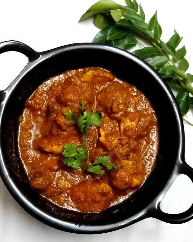 Pav Bhaji Flavoured Chicken