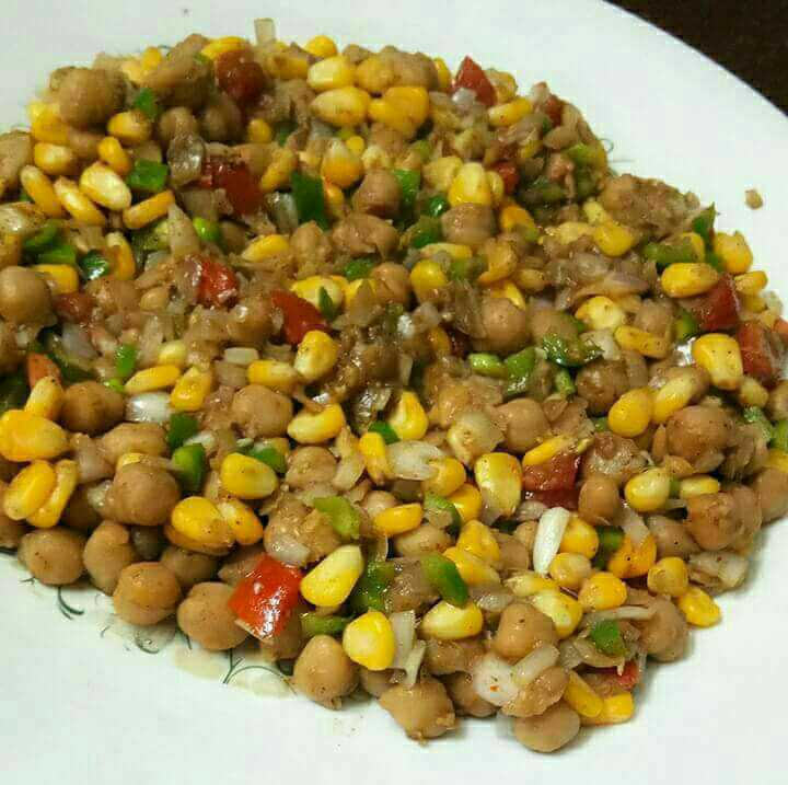 Chana Corn Chat