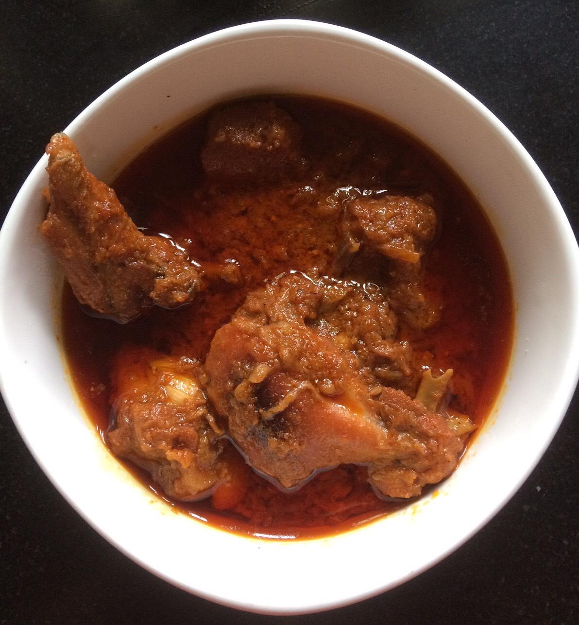 Awadhi chicken korma
