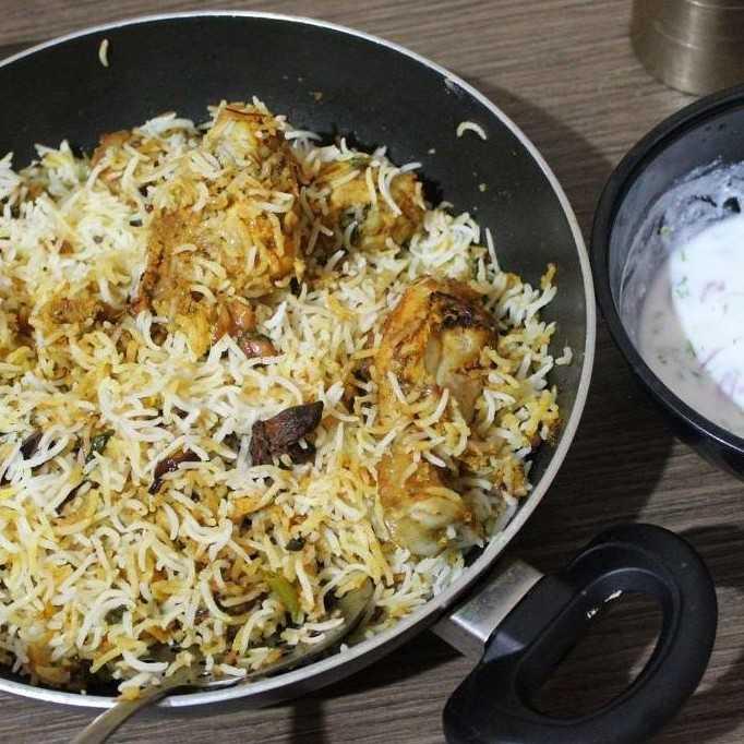 Hyderabad Kaachi Chicken Biryani