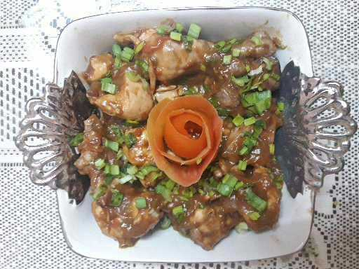 Tangy Capsicum Chicken