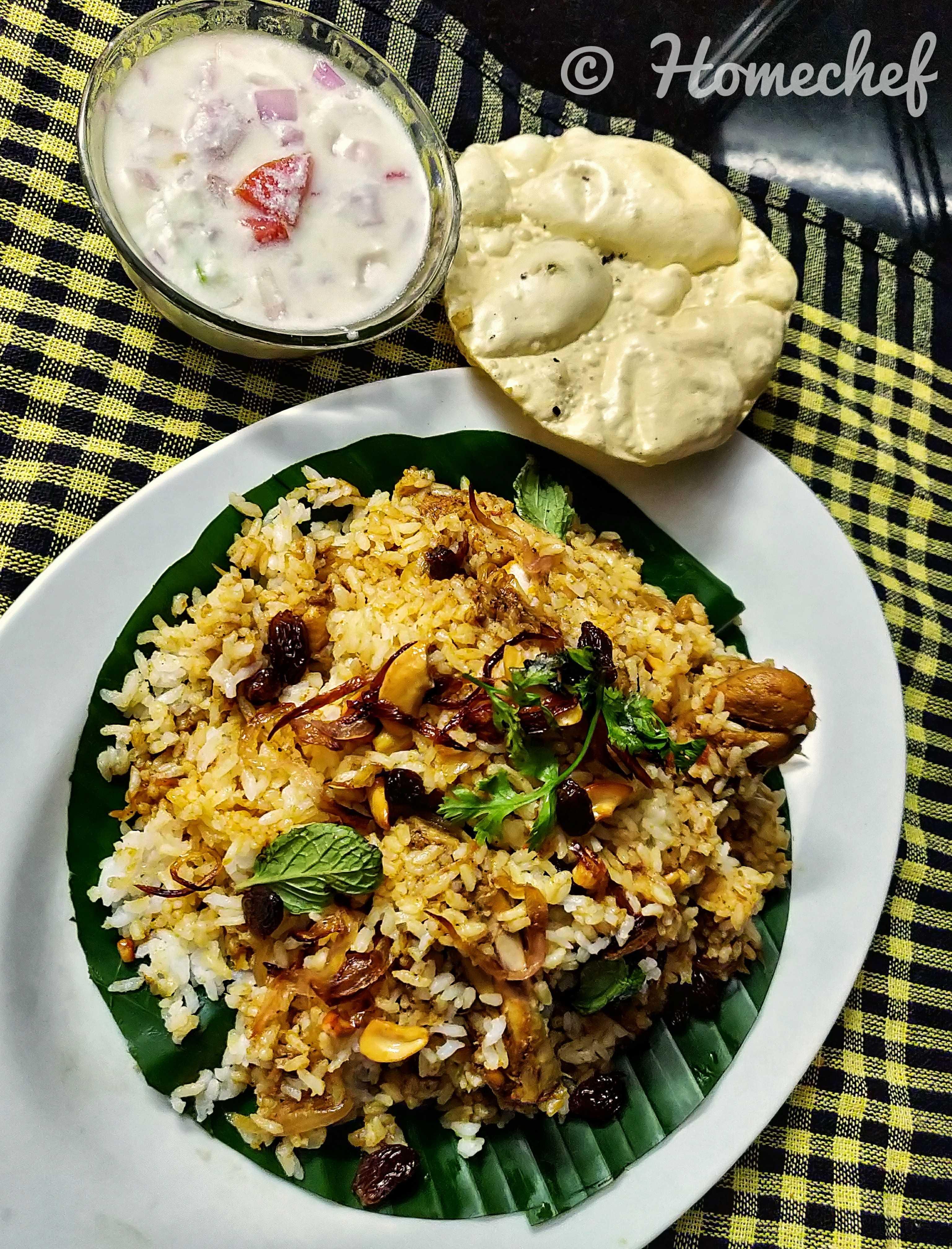 Kerala Chicken Dum Biryani