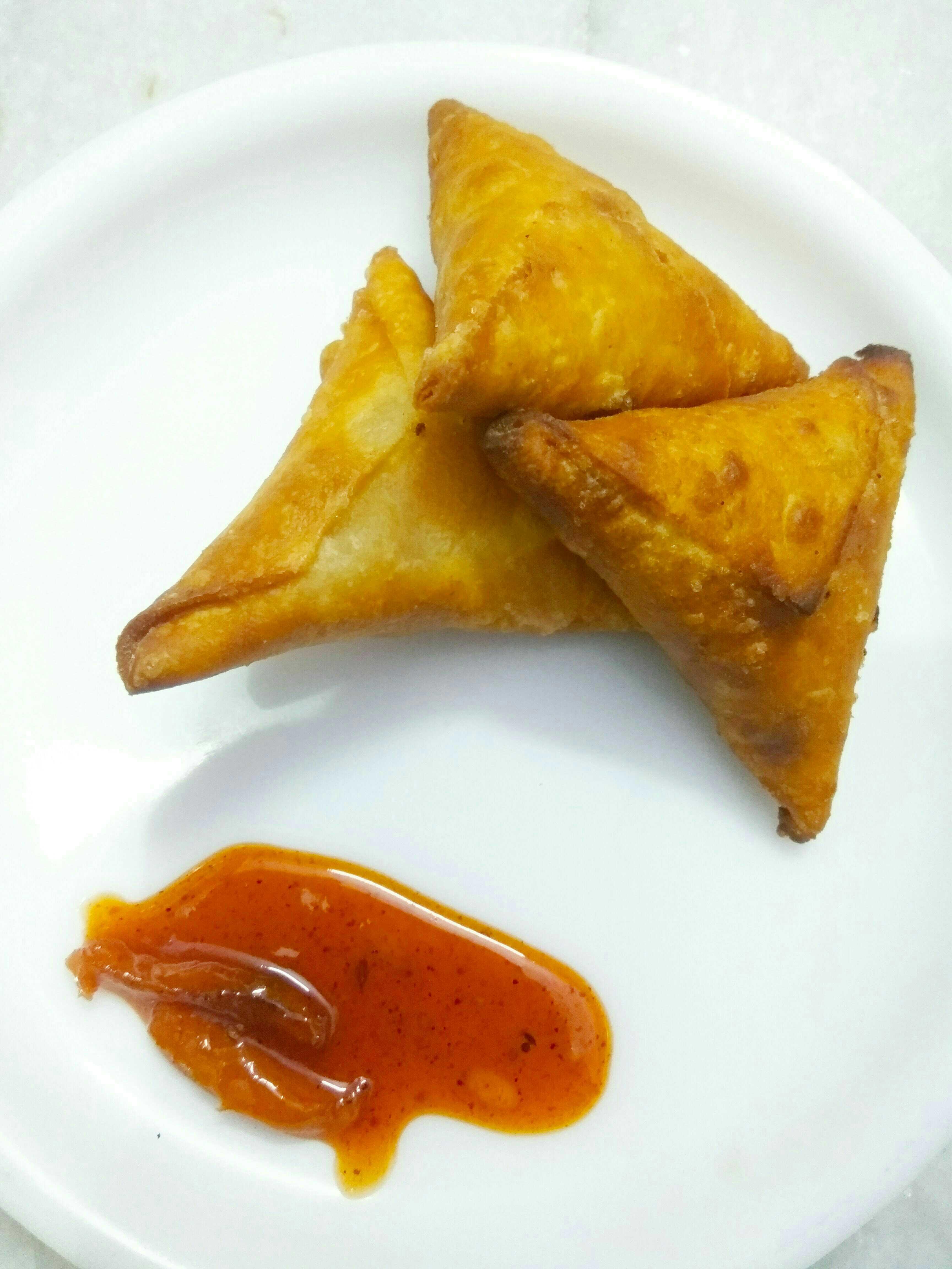 Crunchy Munchy Hyderabadi Samose