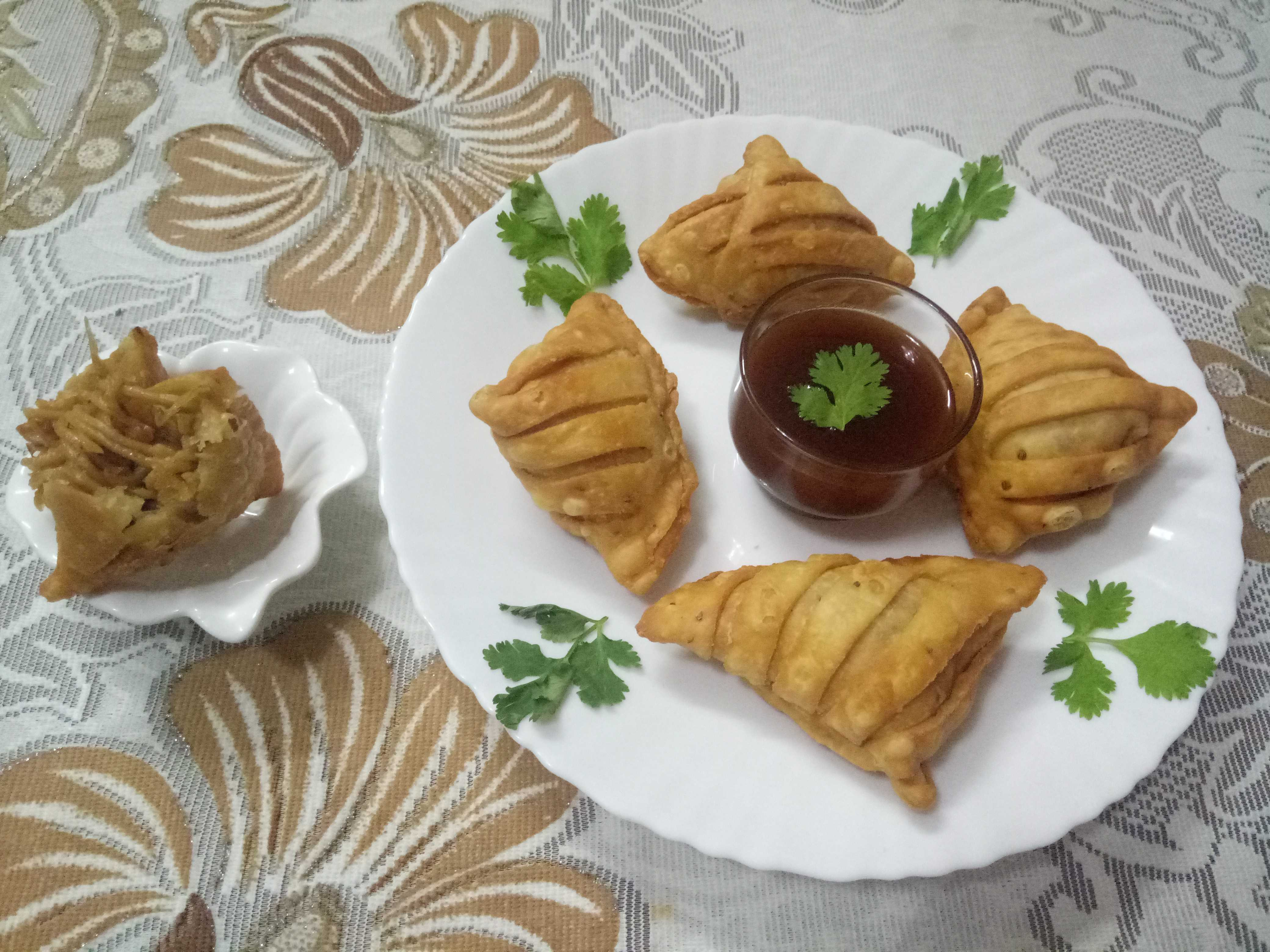 Chinese Strips Samosa