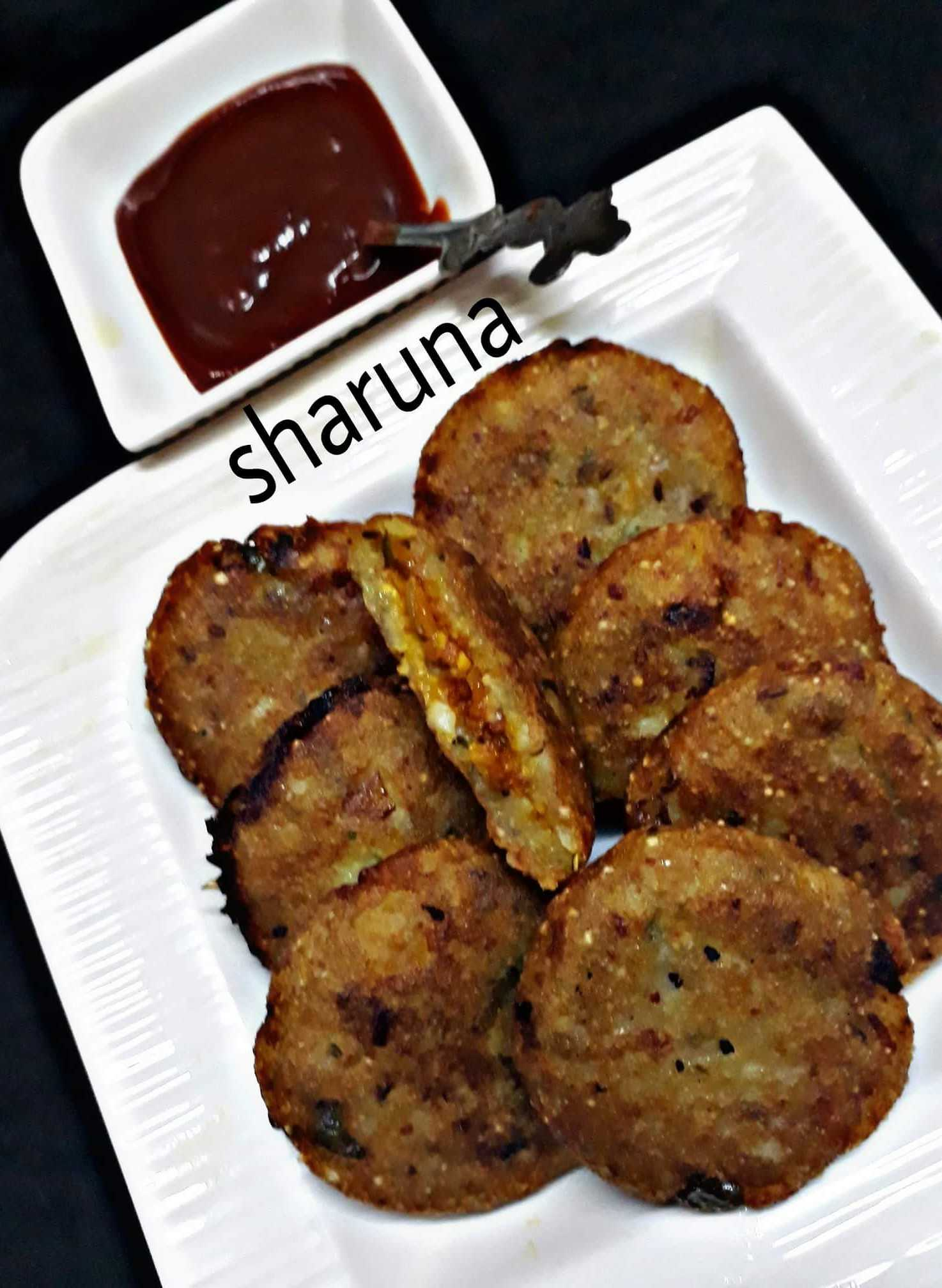 Paneer Packed Potato Cutlets