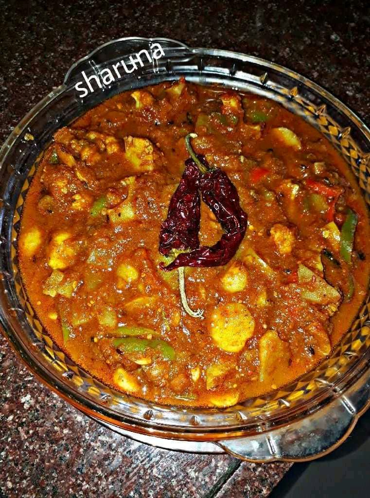 Mix Veg Kolhapure....Hot & Spicy
