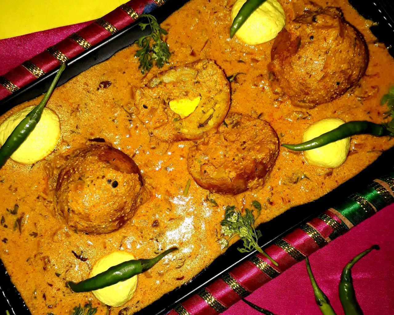 Rasgulla Stuffed Sahi Kofta Curry