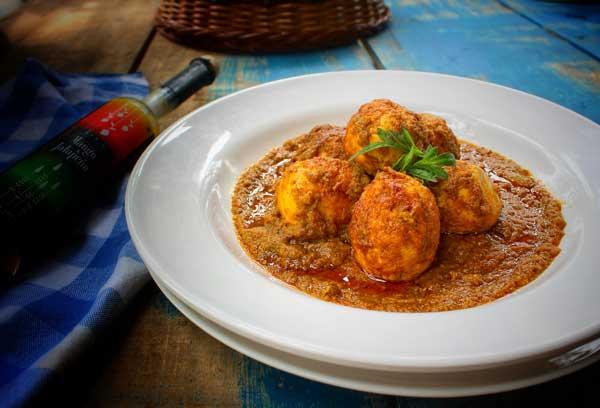 Gourmet Egg Curry