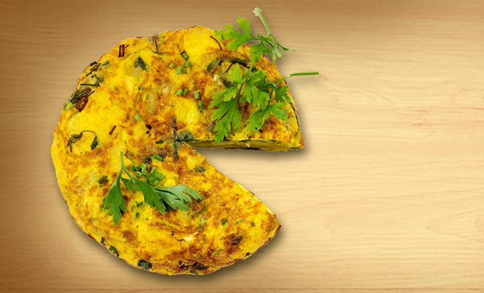 Mexican Tortilla Omelette